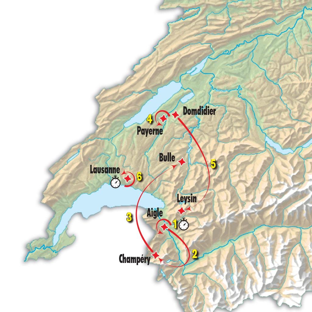 Tour de Romandie 2017 percorso e tappe
